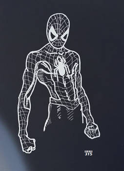 Spiderman Homecoming Sketch (Original)
