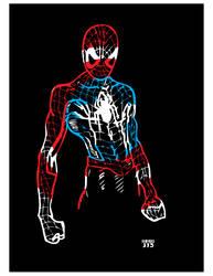 Spiderman Homecoming 'merica (Color Add Sketch)