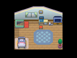 Pokemon HGSS Player's Room by UltimateTraveler