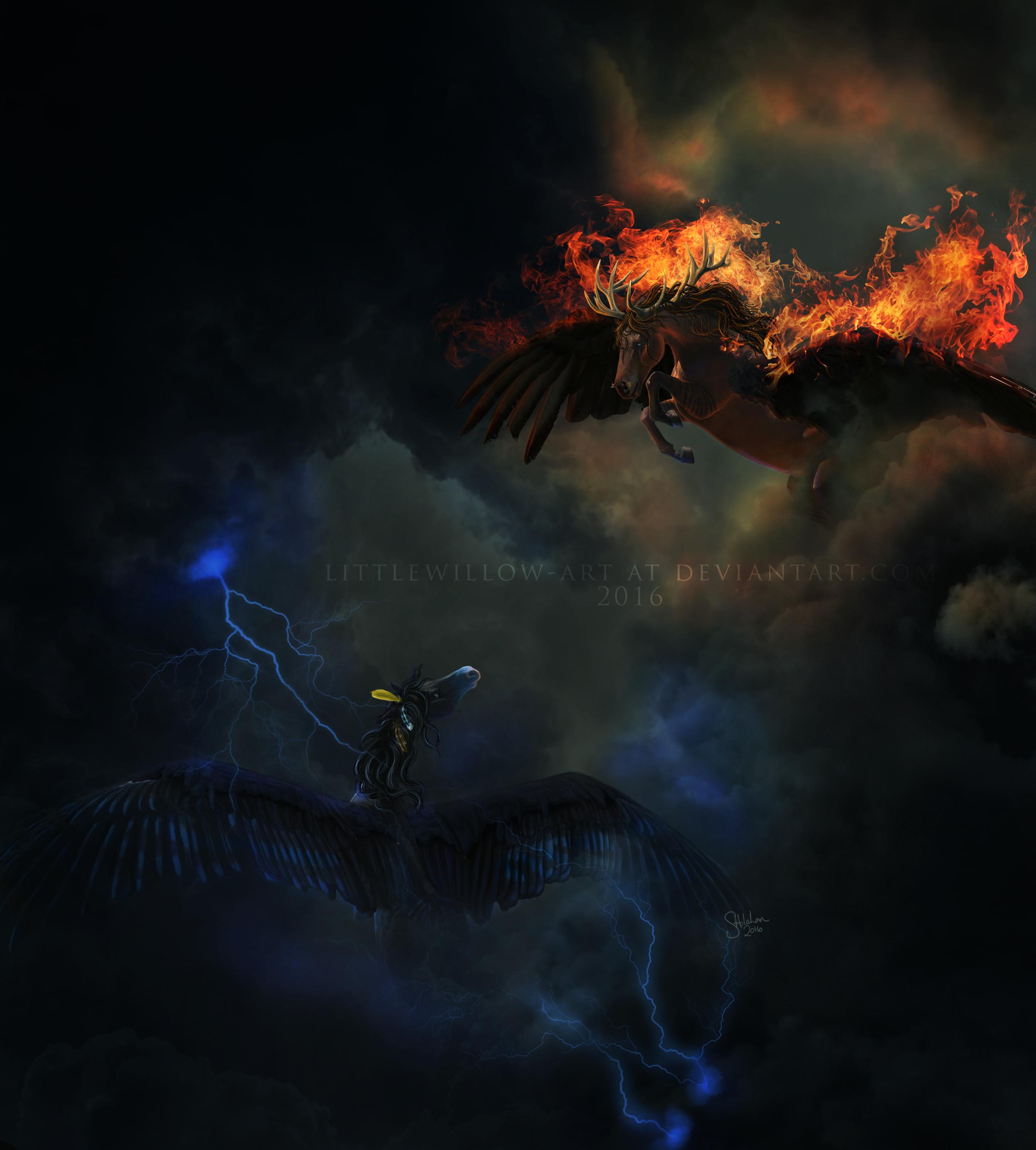 Light Up The Sky by littlewillow-art