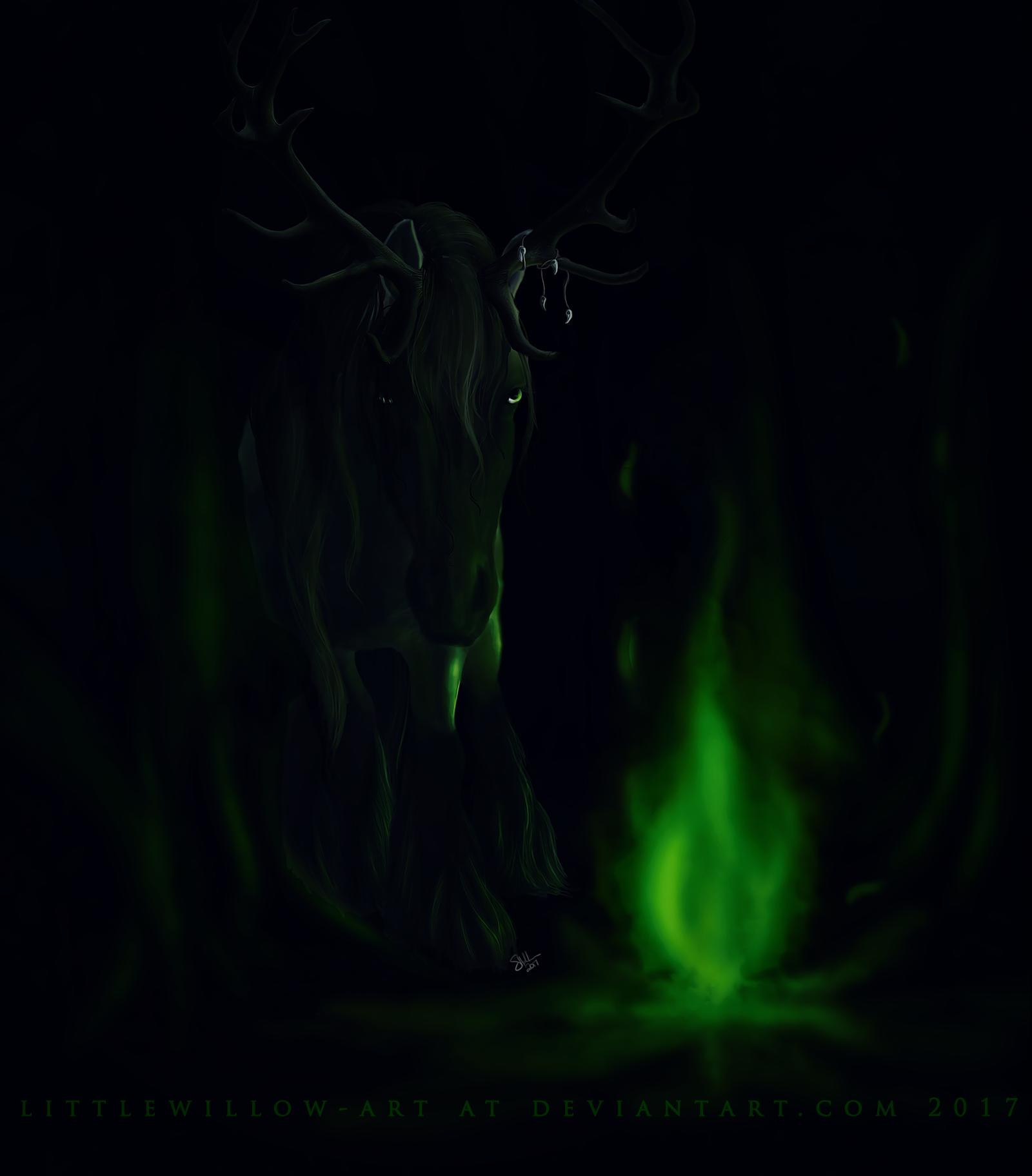 deep magic by littlewillow-art