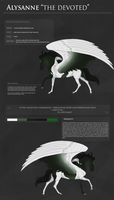 Alysanne Reference (new design) by littlewillow-art
