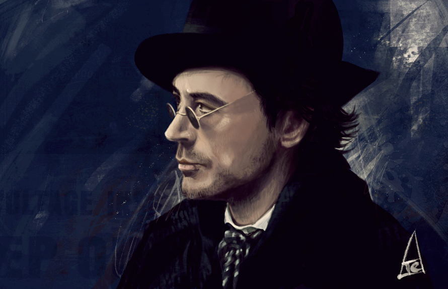 Sherlock Holmes by h-e-r-b-a-t-a