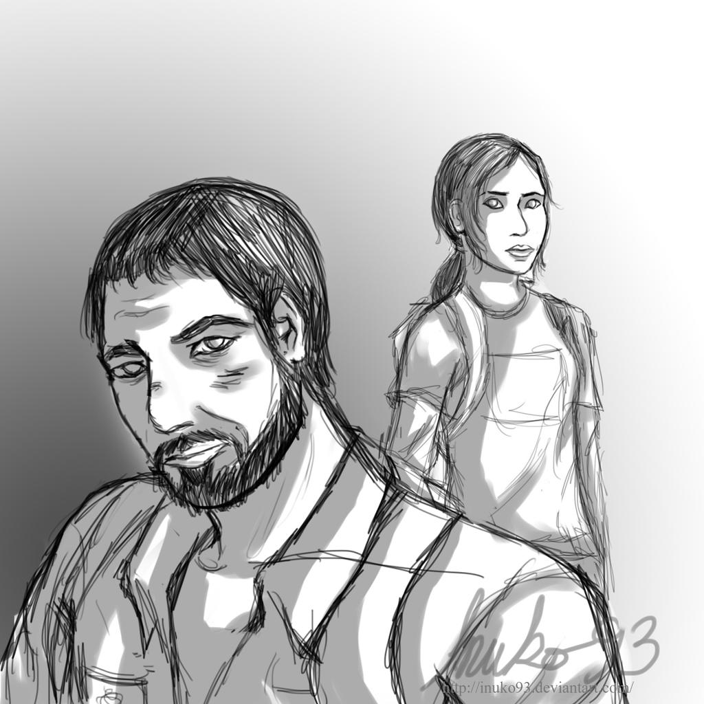 Day 1: The Last of Us by inuko93