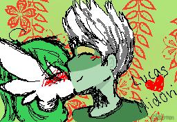 Lucas and Midori by poketmon