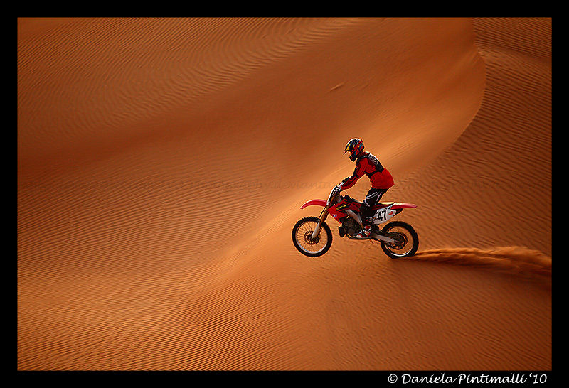 Desert Biking II by TVD-Photography