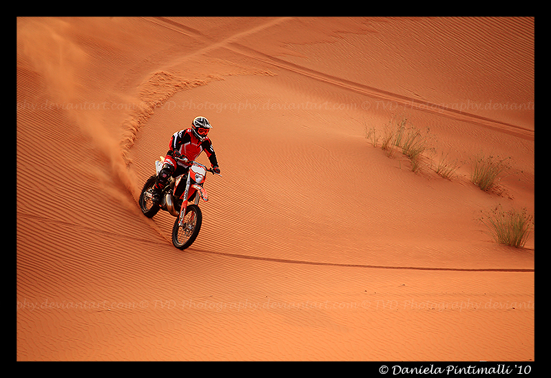 Desert Biking VI by TVD-Photography