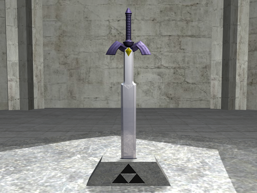 Master Sword Ocarina Of Time