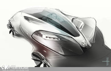 Honda light sports car