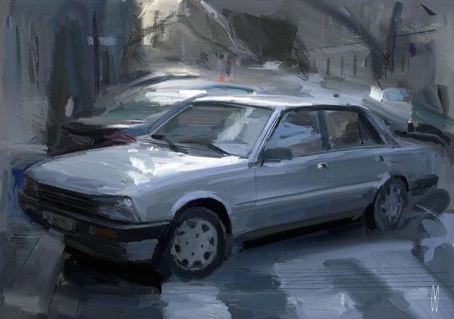 Peugeot_505 by slime-unit