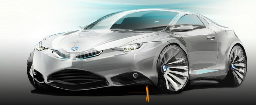 BMW feedback sketch by slime-unit