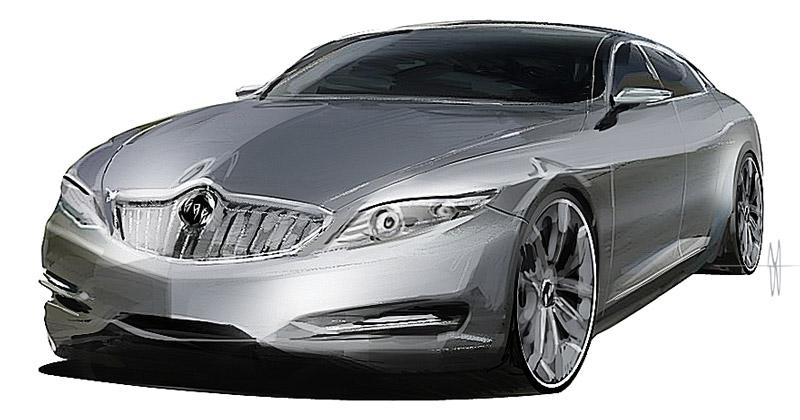 Buick Regal retro proposal by slime-unit