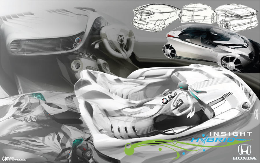 Honda Insight proposal by slime-unit