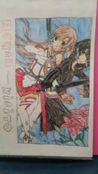 sao asuna and kirito by rainbowdash24191997