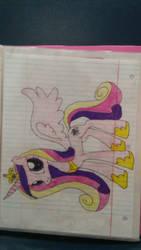 princess cadence drawing by rainbowdash24191997