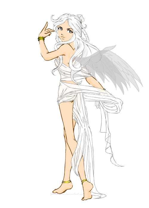 The Goddess Nike by shidabeeda on DeviantArt