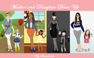 Mother and Daughter Dress Up