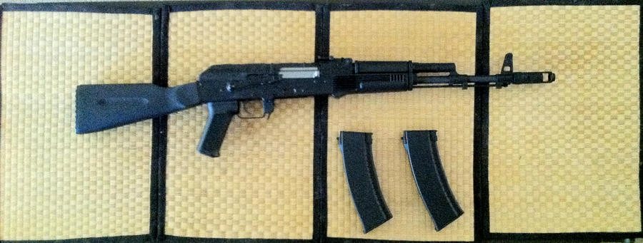AK-101 Airsoft by N-Hyuman80 o...