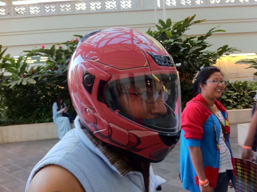 Gundam Motorcycle Helmet Zaku Motorcycle Helmet by n
