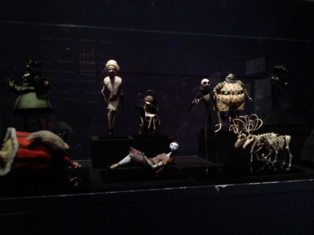 Tim Burton exhibit 4: Nightmare Before Christmas by ...