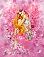 Cherry blossoms Lady by PraxedesArt