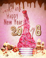 Sweet and Happy New Year by PraxedesArt