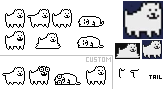 Annoying Dog Sprites (self-made) by FZone96