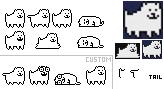 Annoying Dog Sprites (self-made) by FZone96