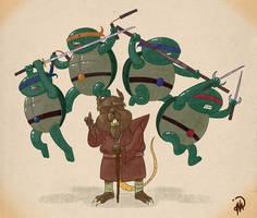 Ninja Turtles by dionbello