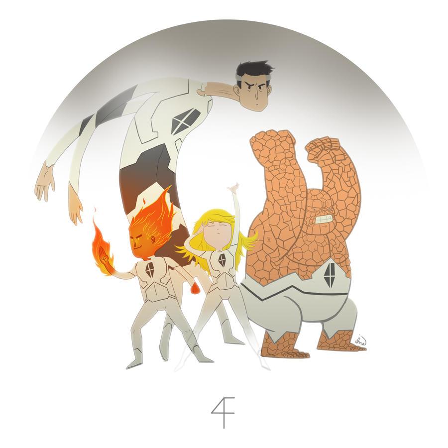 Fantastic Four Redesigned by dionbello