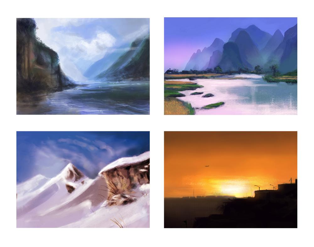landscape practices 1 by CitrusGun