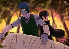 Kisame And Itachi by CitrusGun