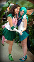 Sailor Scouts- Friends Forever by hollyhaven