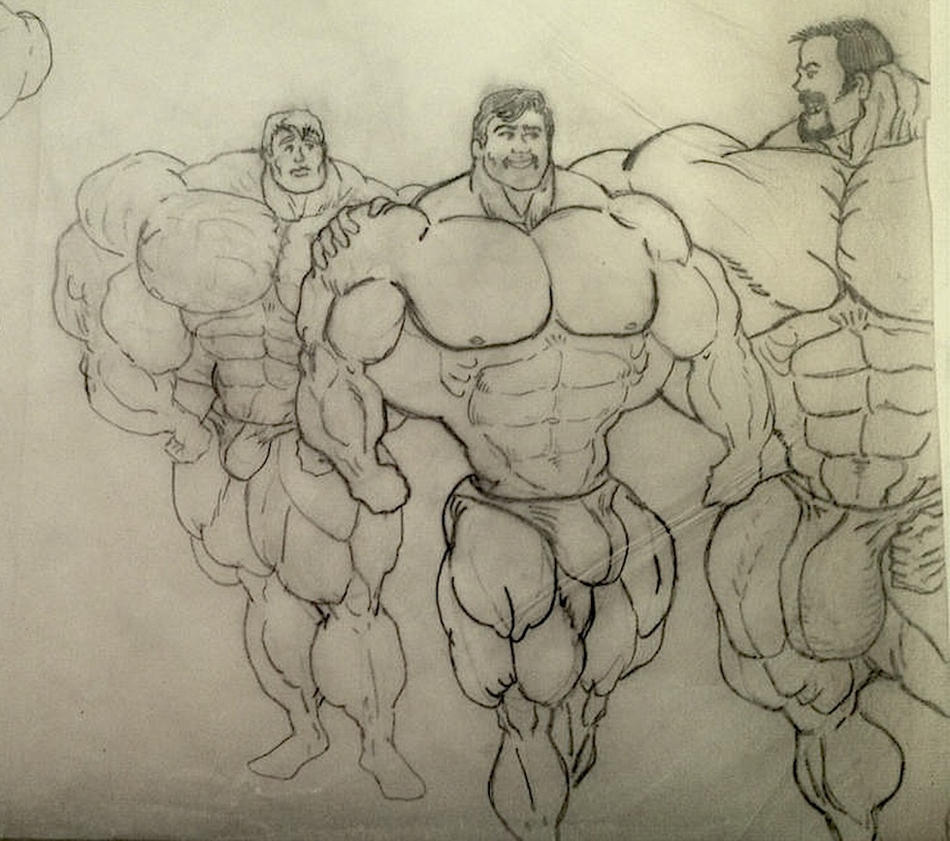 HUGE Bodybuilders 8 n by MASSMANN
