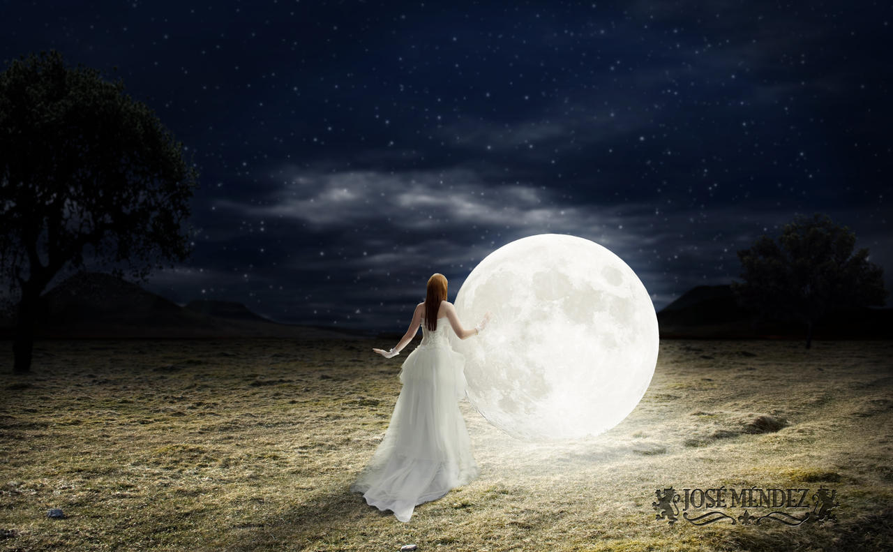 The Moon by JoshuaDuLac