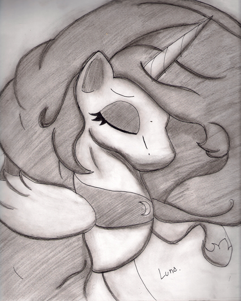 ~Princess of the night, sleeping~ by SebaBlackLuna