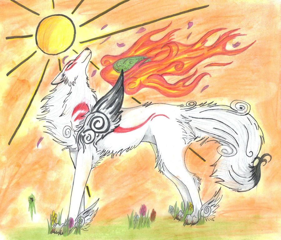 Okami by Eclipsedwolf