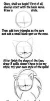 Tutorial of drawing Sonic