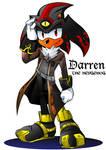 Darren the Hedgehog Mobius Style