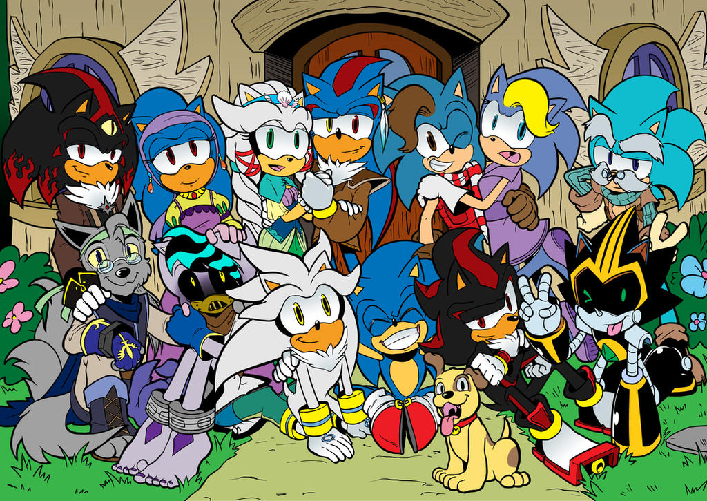 Big Hedgehog Family Picture