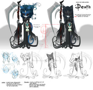 NEW CHARC-Lady Death Concept Art and Charc Bio
