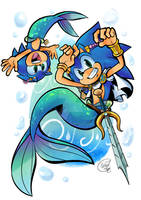 Sonic in Merhog form