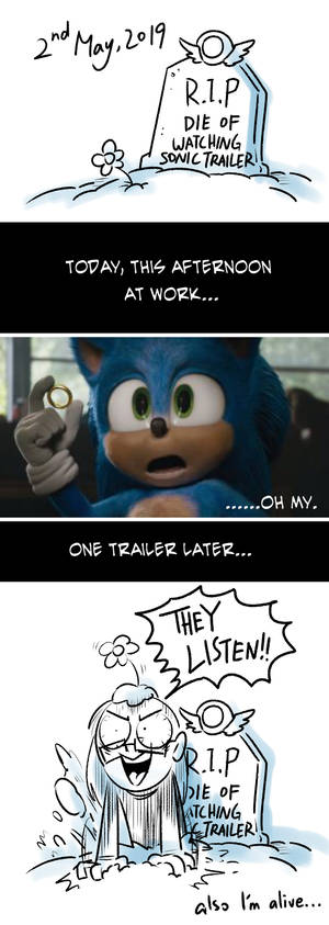 ANOTHER Reaction to Sonic Trailer
