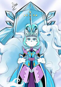Eirwen and her Pokemon
