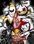 Rakar and his Pokemon by LiyuConberma