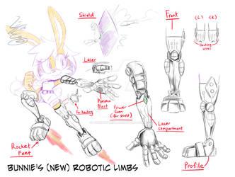 Bunnie Cybernetic Limbs- MY VERSION