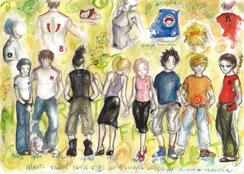 Naruto - summer fashion 1 by LevyRasputin