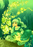 Shining Ocean - Green