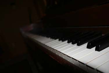 Darkened White Keys