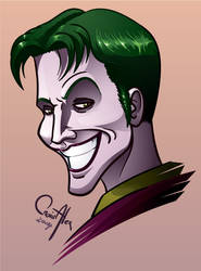 Anthony Misiano's Joker by The-fishy-one